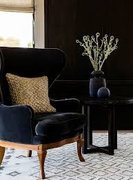 black velvet bedroom chair 312 best black walls images on pinterest living room home ideas