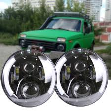 halo jeep wrangler dot approved for jeep wrangler daymaker led headlights 7inch round