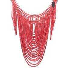resin bead necklace images African fashion jewelry vintage statement body shoulder bib full jpg