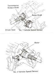 lexus ls400 parts uk on a 1991 lexus ls 400 where is the speed sensor located