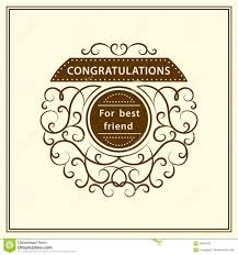 congratulation poster congratulation for best friend stylish typographic poster design