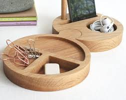 Office Desk Tidy Chunky Oak Desk Tidy Office Desk Accessories Cord