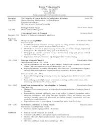 Resume Samples Non Profit by Wharton Resume Template 21 Resume Template Examples Resignation