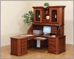 Home Desk With Hutch Lovable Design Corner Desk With Hutch Ideas Oak Corner Desk Oak