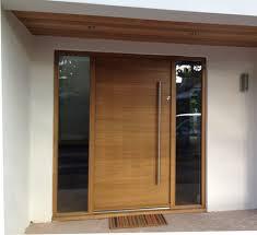 Oak Exterior Doors Modern Wood Exterior Doors Home Design Hay Us
