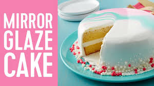 how to make a mirror glaze cake youtube