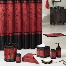 Bathroom Decorating Accessories And Ideas Bathroom Design Awesome Red Black And White Bathroom Decor Cream