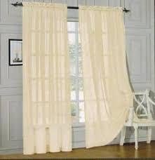Curtains 60 X 90 Virginia Beige Grommet Blackout Weave Embossed Window Curtain