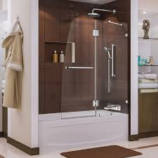 Shower Glass Doors Prices by Designs Chic Glass Door For Bathtub 124 Full Size Of Bathroom