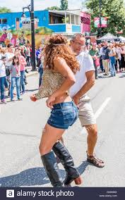 southwest commercial actress dancing dancing in the street stock photos dancing in the street stock