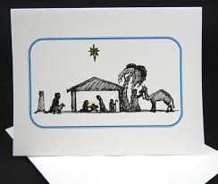 christmas cards drawing christmas lights card and decore