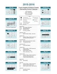 our school calendar travis heights elementary school
