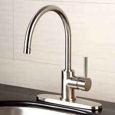 kitchen faucets overstock concord satin nickel kitchen faucet free shipping today