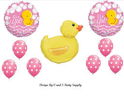 amazon com it u0027s a rubber ducky baby shower balloons