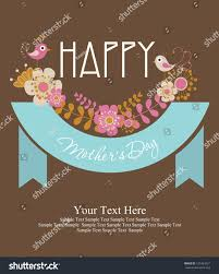 happy mothers day card design vector stock vector 127484237