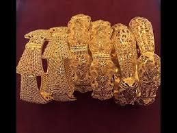 gold broad bangles dubai gold jewellery designs