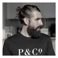cool hairstyles for men with long hair together with man bun with