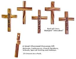 pocket crosses olive wood pocket cross 25 pack jerusalem sted jerusalem