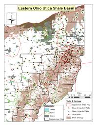Map Of Eastern Ohio by Lakes In Appalachian Ohio U0027s Utica Play A Snapshot Fractracker