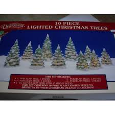 auction for lemax dickensvale 10 porcelain lighted