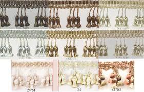 Beaded Fringe For Curtains Your One Source For Tassels Beaded Fringe Chainette Bullion