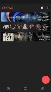 androids tv show android tv show tracker app add shows to watchlist check air dates