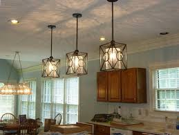 Crackle Glass Pendant Light 1 Farmhouse Rustic Black Pendant Light Fixture Kitchen