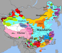 Geography Of The Ottoman Empire by Geographical Distribution Of Languages In China Not Majority