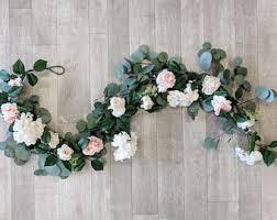 floral garland flower garland etsy