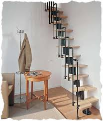 Narrow Stairs Design Joining Attics Space Saving Staircase Designs If You An