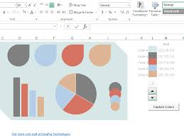 Colour Themes For Excel | excel dashboard color scheme selector bacon bits