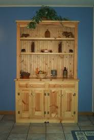 country pine hutch a misfit some times things don u0027t fit or work