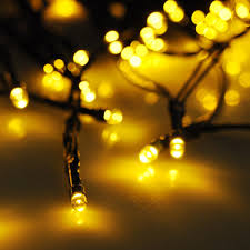 Solar Powered Outdoor Fairy Lights by 60 Leds String Light Solar Powered Fairy Tree Light Wedding Xmas