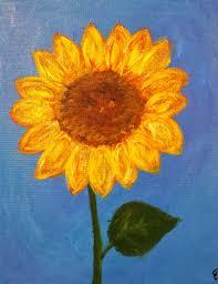 angela anderson art blog sunflower paintings kids art lessons