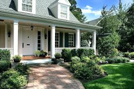ranch style front porch front porch landscaping design brick pathway and landscaping ranch