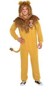 lion costume cowardly lion costume plus size the wizard of oz party city