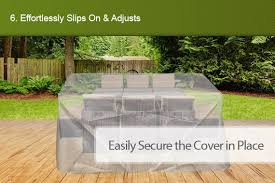 Waterproof Patio Furniture Covers by Set 10 Seater Sofa Waterproof Outdoor Furniture Outbaxcamping