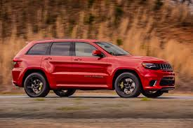 badass jeep grand cherokee hennessey u0027s jeep trackhawk hits 60 mph in 2 8 seconds