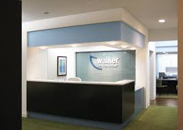 Modern Reception Desk Divine Modern Reception Desk Of Walker Dental Group Office Schemes