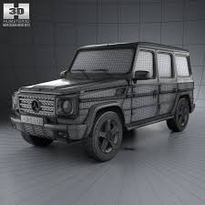 mercedes g wagon 2013 3d mercedes g class 5 door 2013 cgtrader