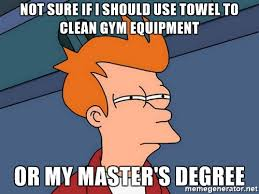 You Re A Towel Meme - if you re not sweating do it better the apathetic vegan
