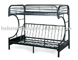 Black Metal Futon Bunk Bed Metal Bunk Bed Frame With Futon Roselawnlutheran