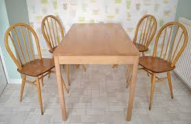 Ercol Dining Table And Chairs Ercol Excellent Posture By Ercol Dining Table And Four Chairs