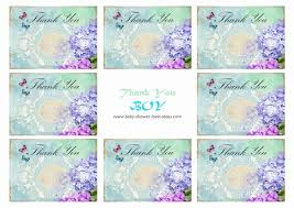 free printable baby shower thank you cardsbaby shower best ideas