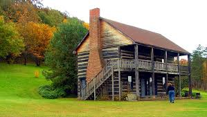 two story log homes small two story cabin two story log cabin rural carroll county