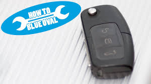 how to ford radio remote flip key change battery focus kuga