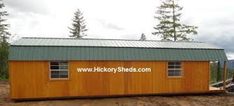 Building Plans Garage Getting The Right 12 215 16 Shed Plans by Old Hickory Sheds Lofted Barn
