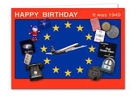 69th birthday card 69th birthday card souvenir of 1949 2018 ebay