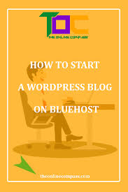 how to start a successful wordpress blog on bluehost from home and