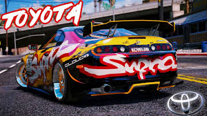 tuned supra toyota supra mkiv tuned add on tuning gta5 mods com